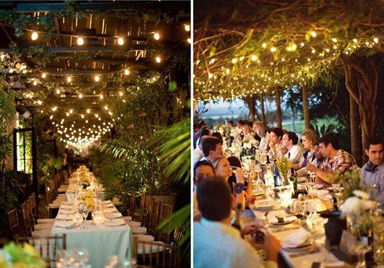 Inspiratie lumini decor pentru o nunta de vis | Inspiratie de Nunta