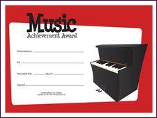 22 best music award sertificites images on pinterest award free printable general music award certificates makingmusicfun yelopaper Images