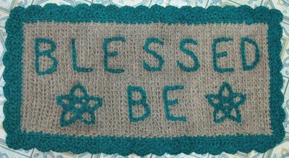 Here S A Blessed Be Rug Or Welcome Mat This Is One Of My