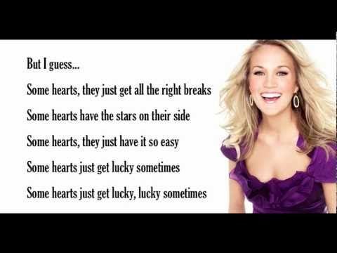 Some Hearts Lyrics