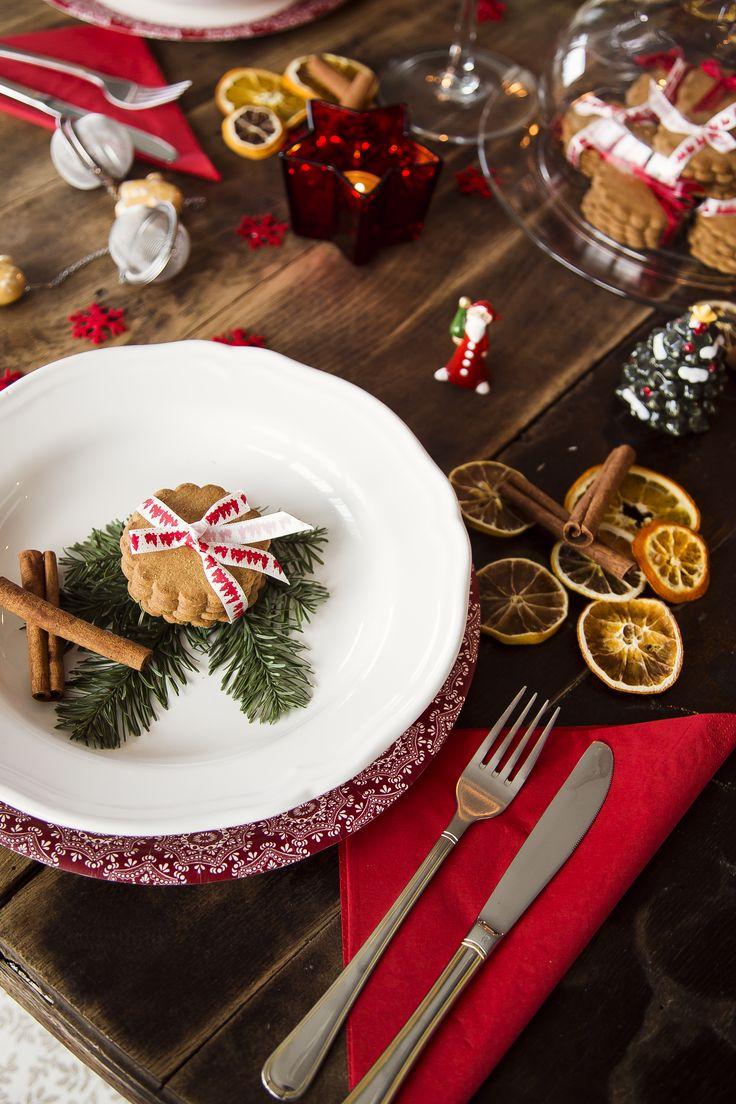 Świątecznie u Malitki…czyli Życzenia dla Was i pomysł na nakrycie stołu!