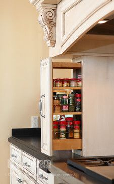 Mediterranean Kitchen - Cherry - mediterranean - kitchen - phoenix - Custom Cupboards