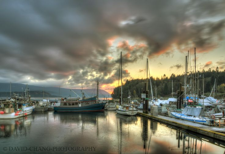 Cowichan Bay sunrise