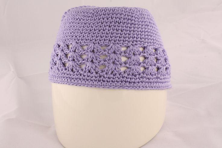 Light Purple Knit Hat