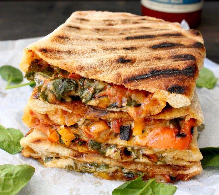 Vegetarian Calzone Recipe