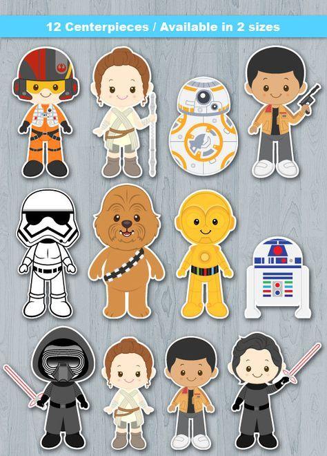 The Force Awakens Centerpiece, Star Wars Centerpiece, Star Wars Table…