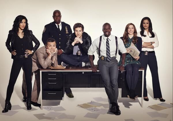 Brooklyn 99, hilarious show! Thanks @Blanca Carlson Carlson Threadgould Vivas for showing it to me!