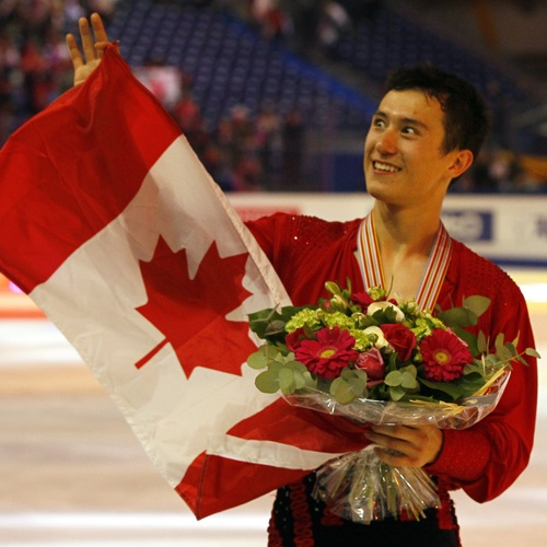 Patrick Chan Canadian Figure Skater- My favourite figure skater love him and I'm Canadian to GOOOO CANADA