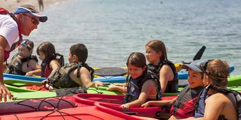 Coaching kayaking in Skopelos
