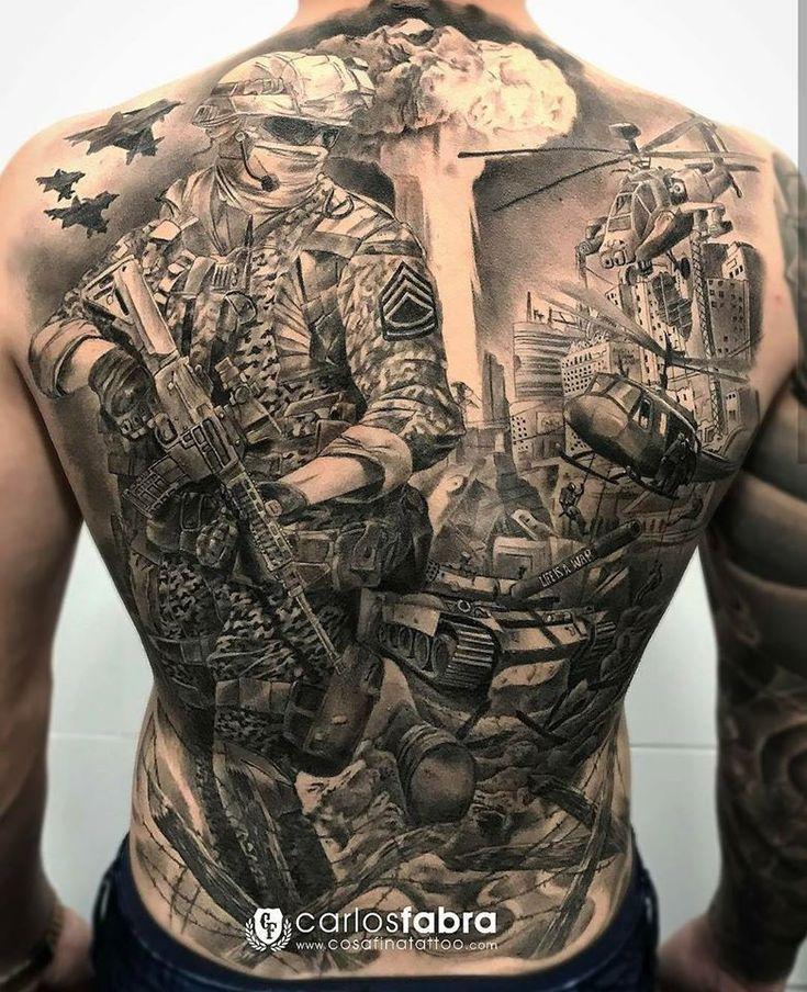 Carlos Fabra   – Tattoo-Ideen