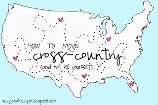 """How to move cross country and not kill yourself""  Confused the solution is not  ""drink heavily and wait for magical elves to do it for you."" Am I doing it wrong?"