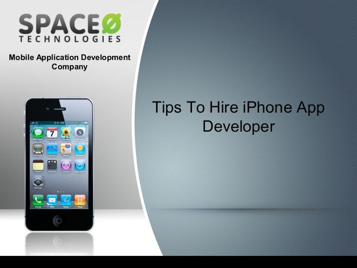 Tips to hire #iphoneappdeveloper