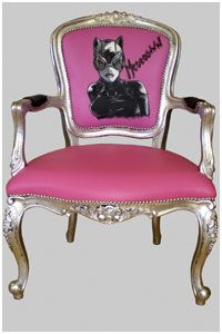 Elegant Hand Painted Chairs Jimmie Martin Images