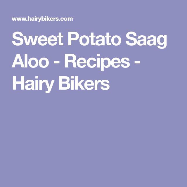 Sweet Potato Saag Aloo - Recipes - Hairy Bikers