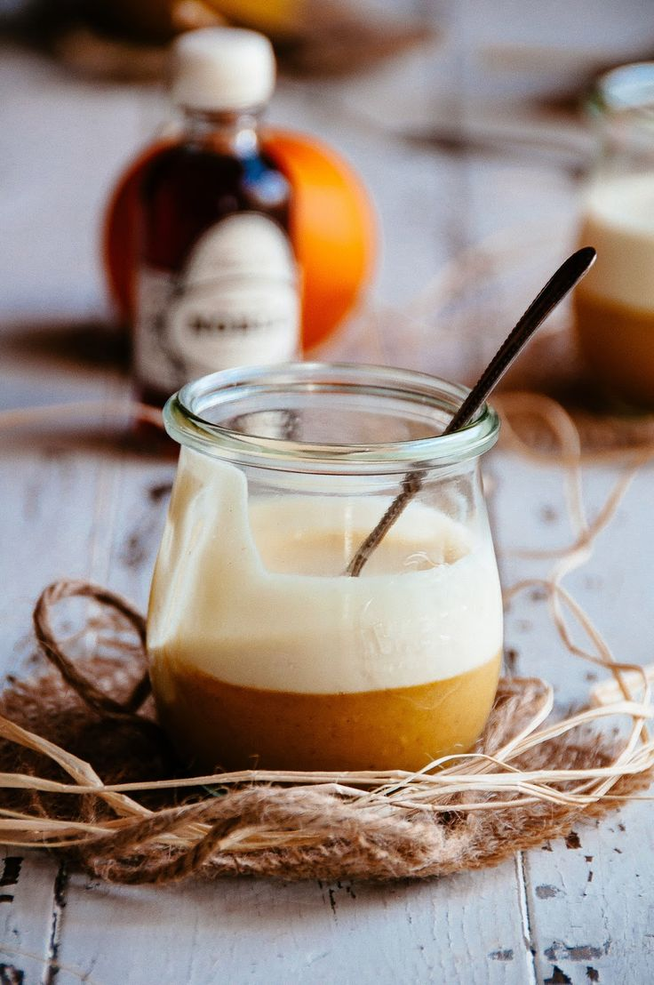 Pumpkin Spice Custard With Maple Brown Butter Mousse | Hint of Vanilla