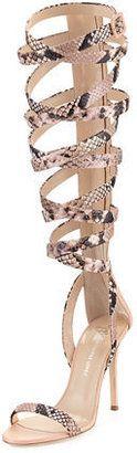 Giuseppe Zanotti for Jennifer Lopez Emme 105mm Gladiator Sandal - $1,295.00