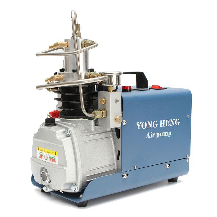 Bomba eléctrica del compresor PCP de la alta presión 30Mpa Bomba eléctrica 220V del aire