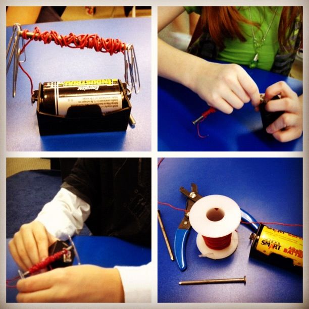 How to Make an Electromagnet (foldable freebie included!)