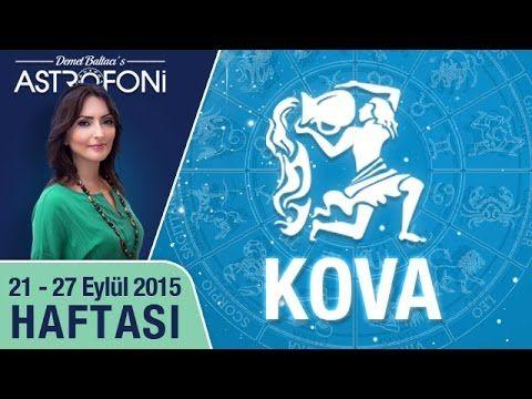 KOVA burcu haftalık yorumu 21-27 Eylül 2015