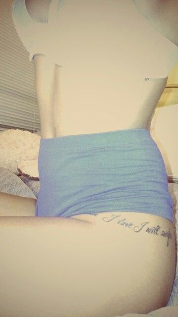 Thigh/ Hip Tattoo placement