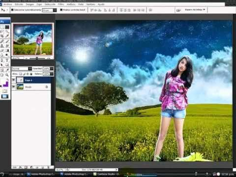 Cambiar fondo con Adobe Photoshop, Tutorial (SUPER FÁCIL) - YouTube