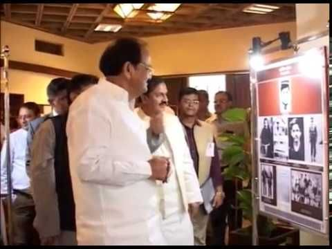 """Inauguration of a 2-day National Conference and an Exhibition on """"Making of Gandhian Nationalist: Life & Times of Sardar Patel"""" Chief Guest: Shri M.Venkaiah Naidu, Hon'ble Vice-President of India  Guest of Honour Dr. Mahesh Sharma, Minister of State(Independent Charge) Ministry of Culture."""