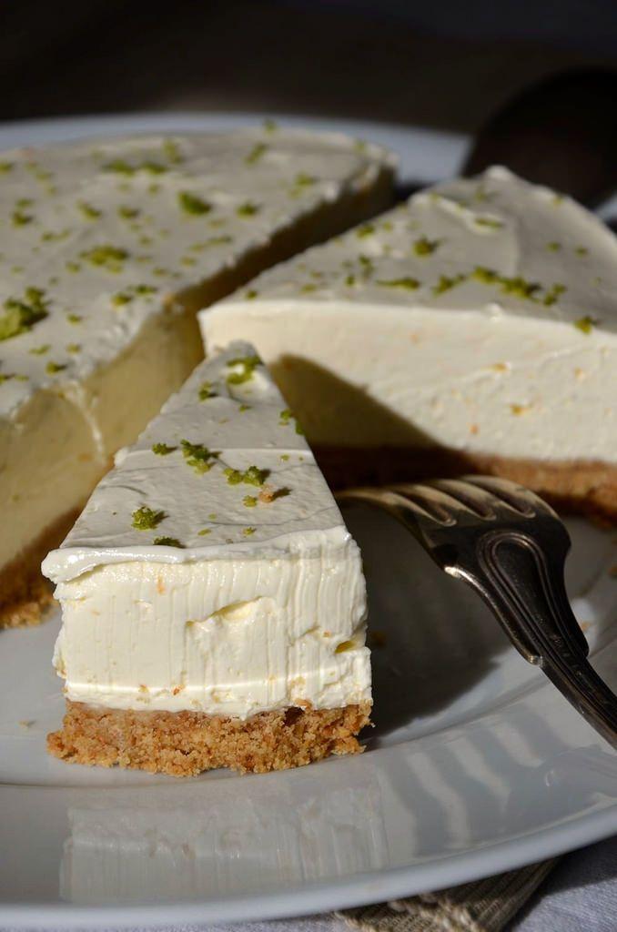 Recette Cheesecake citron sans cuisson