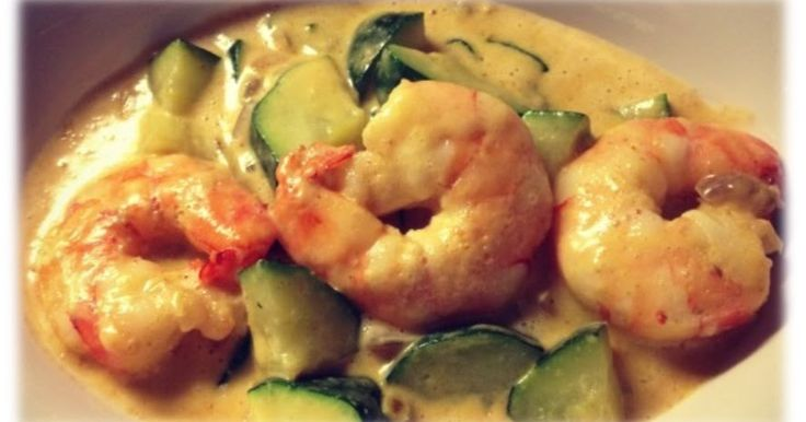 ... njamie!! Wat heb je nodig? 2p 12 garnalen 1 courgette 1 rode ui 1 brikje kokosmelk soja cuisine 2 tl rode curry pasta ...