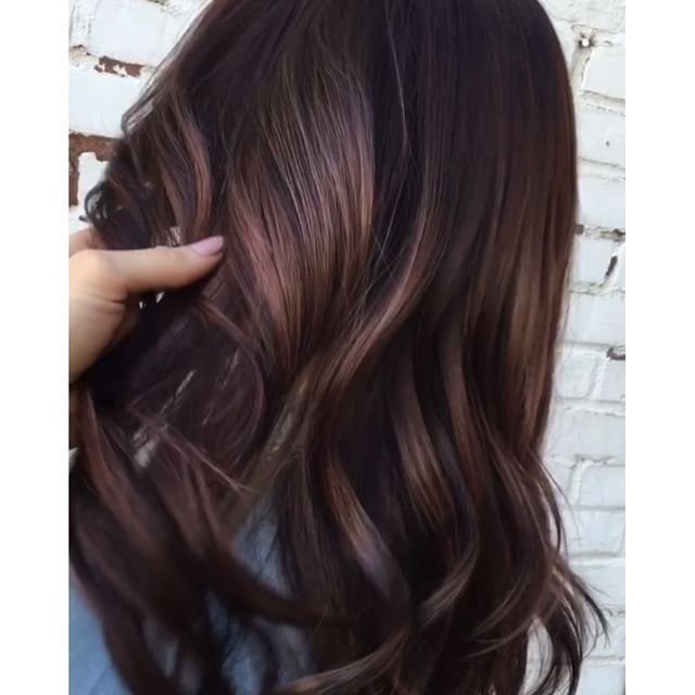 Image Result For Blue Violet Brunette Hair Color Lowlight