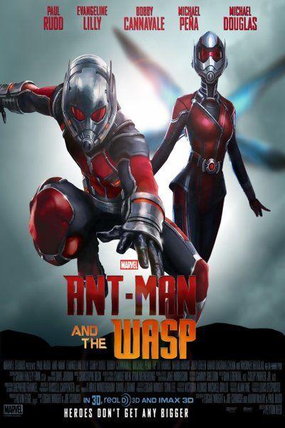 Фильм Человек-муравей и Оса онлайн бесплатно