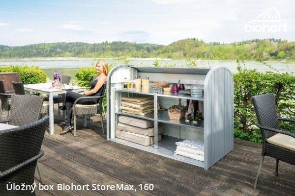 Úložný box StoreMax® 160, stříbrná metalíza      - Kliknutím zobrazíte detail obrázku.