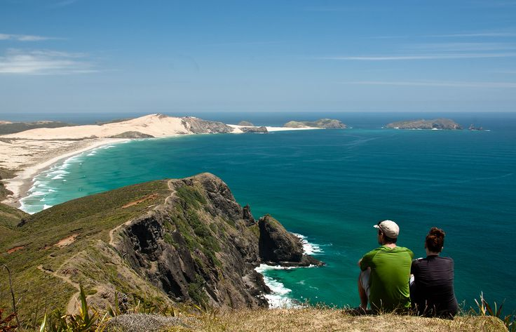 Want to picnic overlooking this view? Lace up your hiking boots for cliffside trails at Cape Reinga ... - Provided by Lonely Planet