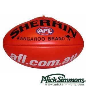 Sherrin Official AFL Match Ball