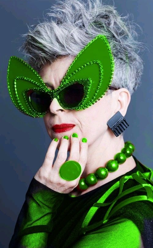 Green - Christine Hahn - http://oystermag.tumblr.com/post/108391093876/