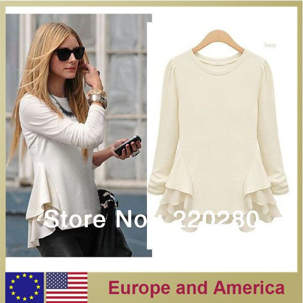 Designer women autumn long sleeve chiffon sophisticated novelty casual dress vestidos for woman 2 color new fashion 2013 $22.00