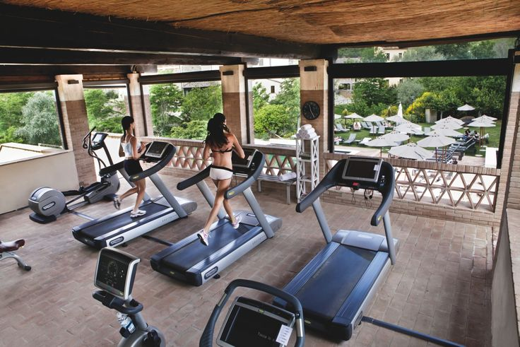 Take care of your body. It's the only place you have to live #fitness #gym #luxuryvilla