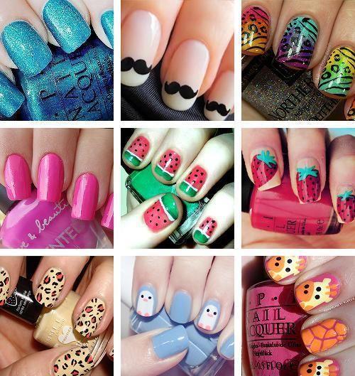 Crazy nail ideas