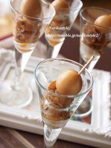 ベビーホタテとうずら卵のおつまみ