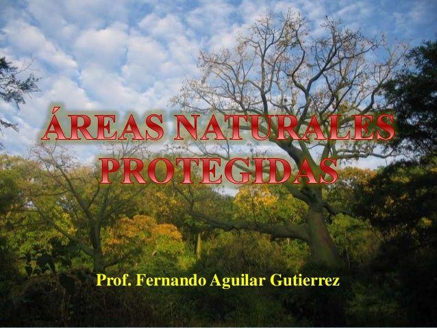 Las Areas Naturales Protegidas by Fernando Aguilar Gutierrez via slideshare