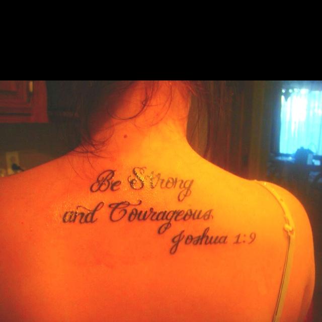My tattoo joshua 1 9 my style pinterest tattoo for Joshua 1 9 tattoo