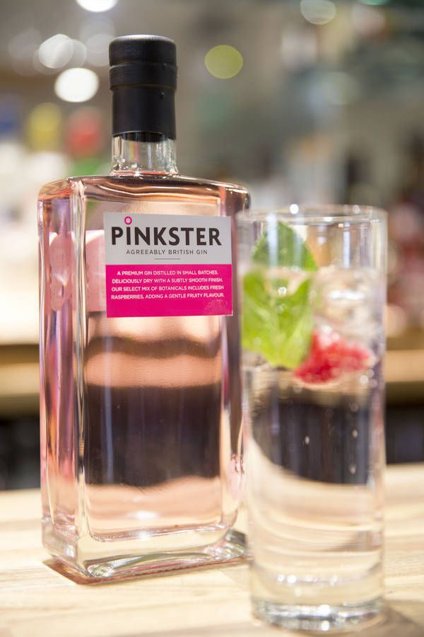 Gin Made With Fresh British Raspberries
