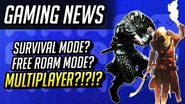 Skyrim Multiplayer & Assassin's Creed Roaming Mode Talk https://www.youtube.com/watch?v=UrqLY-AYhCE #gamernews #gamer #gaming #games #Xbox #news #PS4
