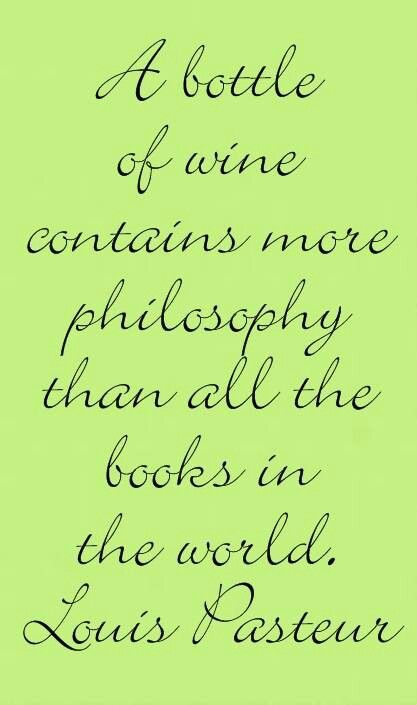 Wine quote to make into wood sign for wine room.