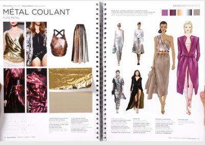 PeclersParis Spring Summer 2015 Mode Femme Liquid Metalls  Métal Coulant