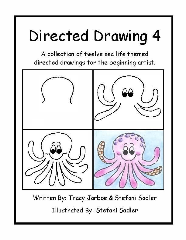 directed drawing of octopus Google Search Directed
