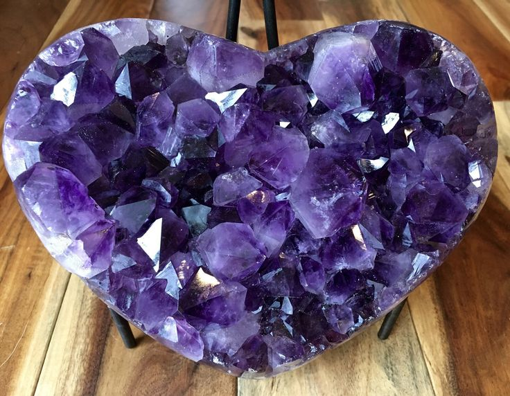 A personal favorite from my Etsy shop https://www.etsy.com/listing/222531091/amethyst-heart-amethyst-cluster-raw