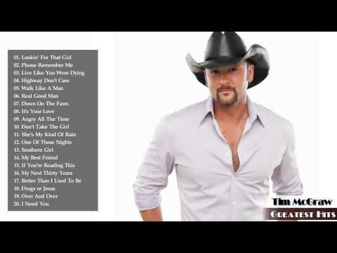 The Very Best of Tim McGraw - Tim McGraw's Greatest Hits - YouTube