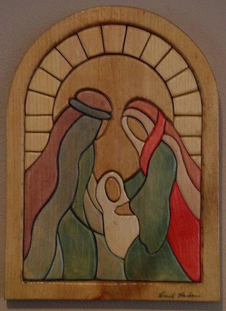 .Nativity / para hacer en repujado o esmalte sobre madera