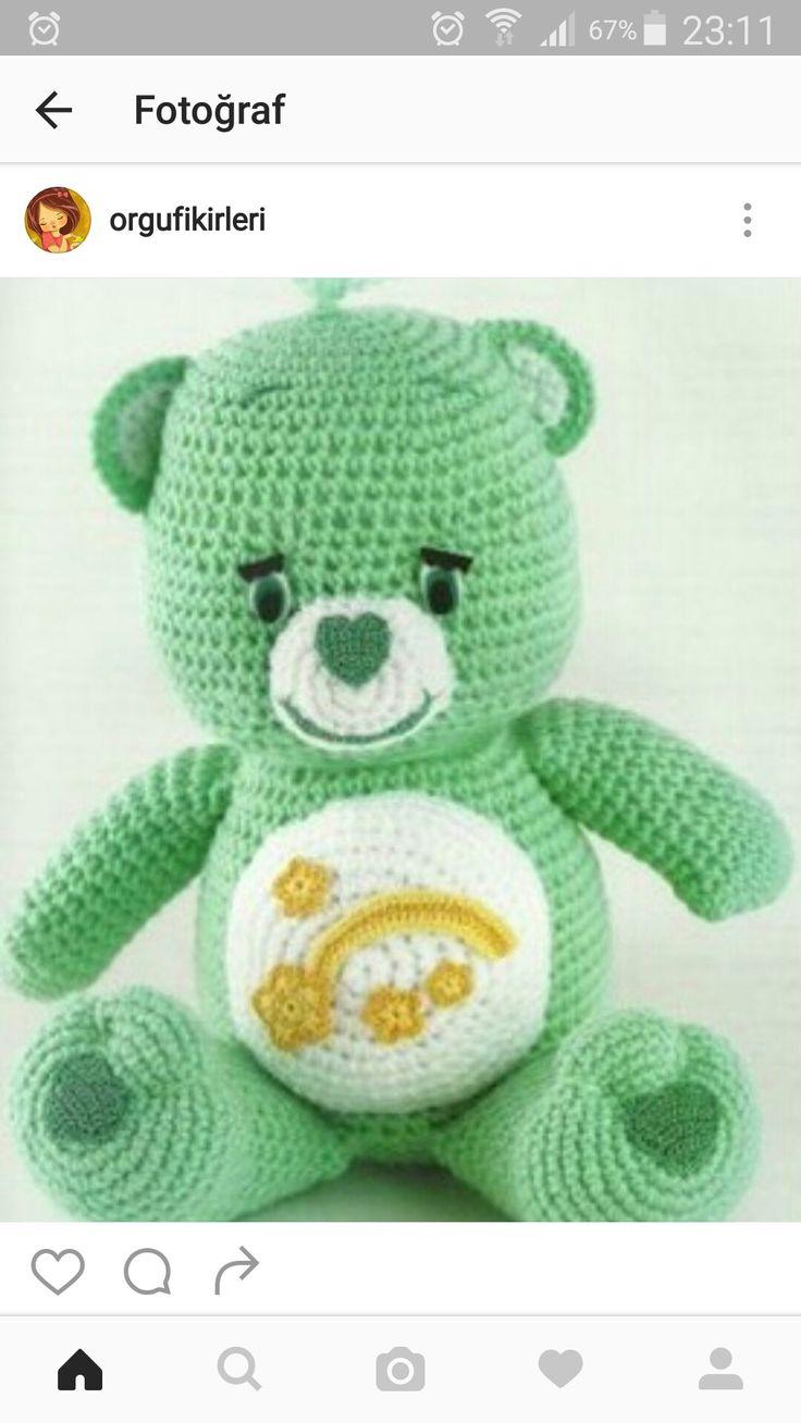 The 49 best Crochet Teddies. images on Pinterest | Care bears ...