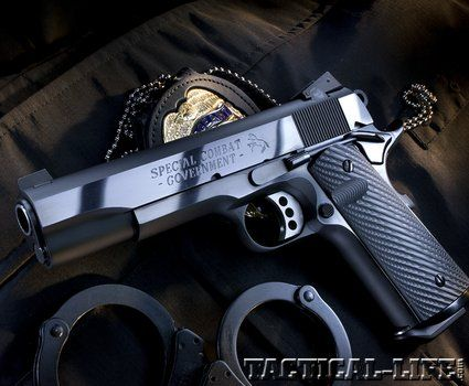 Picked up your copy of the GUNS & WEAPONS for L.E. July issue? If not...here's a good reason to...  Colt Special Combat .45 ACP: Duty-ready 1911 packed with custom touches and big-bore power!